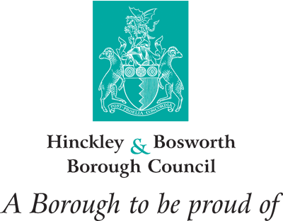 Hinckley & Bosworth Borough Council logo. Click here to visit web site.