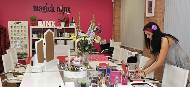 Photo of Magic Minx's studio
