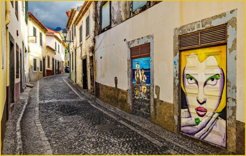 A photo of 'Old Town Funchal, Madeira' by G Holt