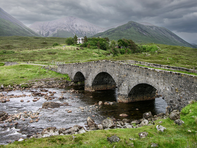 A photo of 'Bridge in Skye' by D. Gallimore