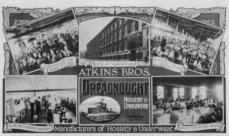 A photo of '1911 Advert' by Hinckley & District Museum