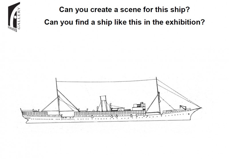 A photo of 'Paddle Steamer colouring sheet' by Ross Kilgour