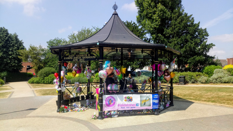 A photo of 'Argents Mead Bandstand - Isla Tribute' by Hinckley and Bosworth Borough Council