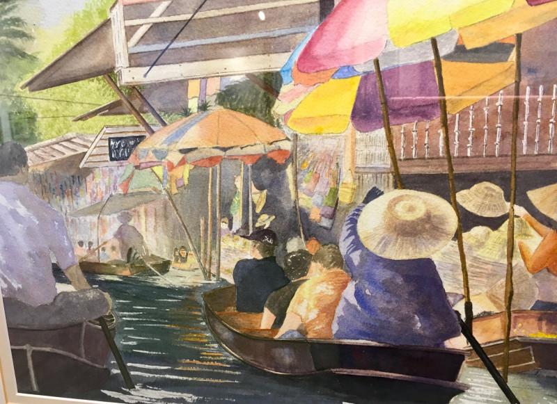 A photo of 'Floating Market in Bangkok ' by Derek Everitt