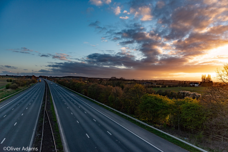 A photo of 'Deserted Motorway ' by Oliver Adams