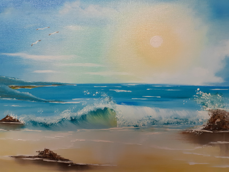 A photo of 'Dreaming of the Coast' by Jane Link  - jane_link@btinternet.com -          07952392640.