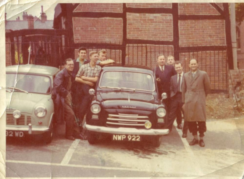 A photo of 'Atkins Factory Employee Car Park' by Brian Simpson via the Fully Fashioned Memories Project