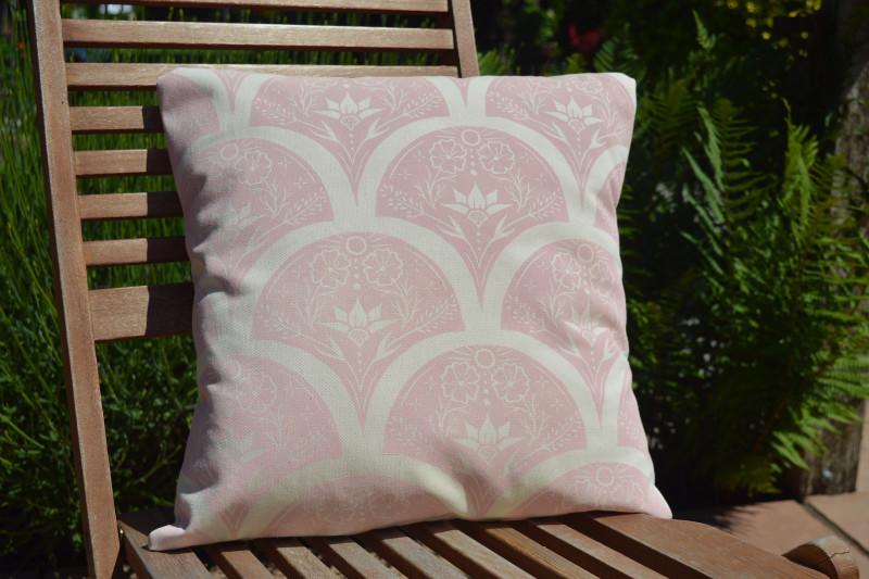 A photo of 'Cushion in Blush' by Ellie York                Instagram @ellieyorkdesign