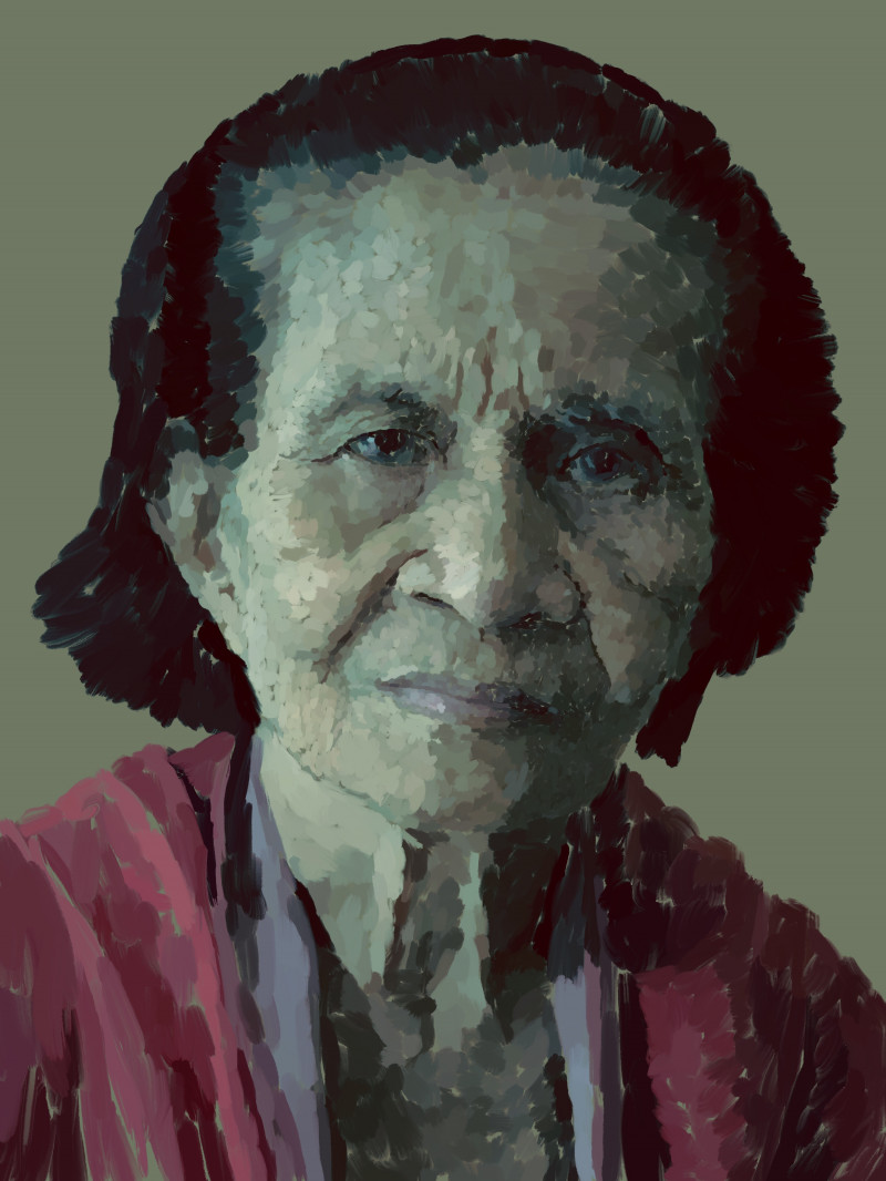 A photo of 'Asuncion, Grandmother' by Emil Beacher