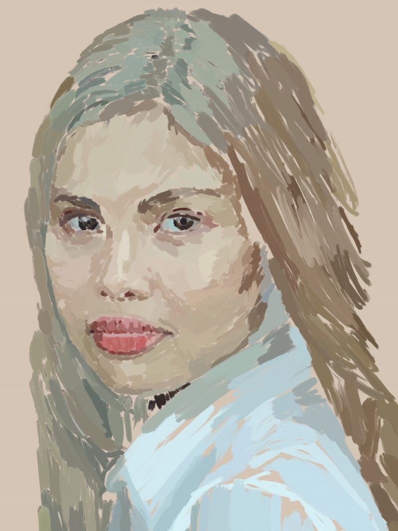 A photo of 'Chin, Fiancé' by Emil Beacher