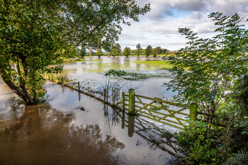 A photo of 'Flood at Congerstone' by Rob Jones
