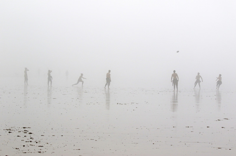 A photo of 'Frisbee In The Fog' by Isobel Chesterman