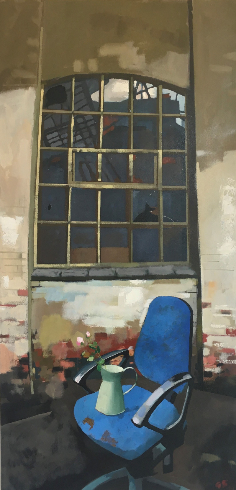A photo of 'GHOSTS OF INDUSTRY   Requiem- The Chairman is Absent' by Geoff Bailey