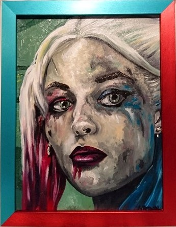 A photo of 'Harley Quinn, Suicide Squad' by Natalie Browne @purplelizard1984