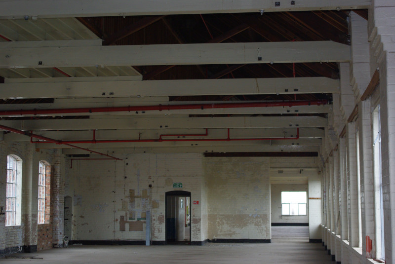 A photo of 'Atkins factory interior June 2008' by Hinckley and Bosworth Borough Council