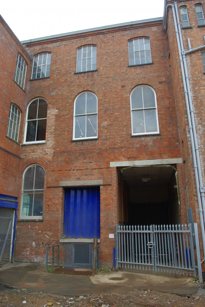 A photo of 'Atkins factory exterior June 2008' by Hinckley and Bosworth Borough Council