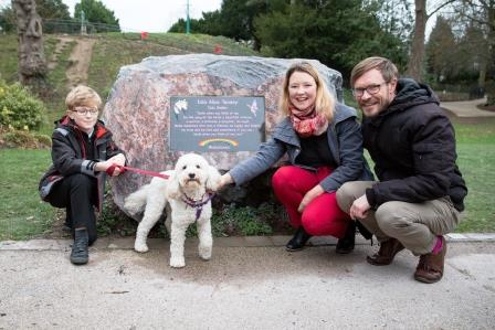 A photo of 'Argents Mead- Memorial Stone Unveiling January 2019' by Hinckley and Bosworth Borough Council