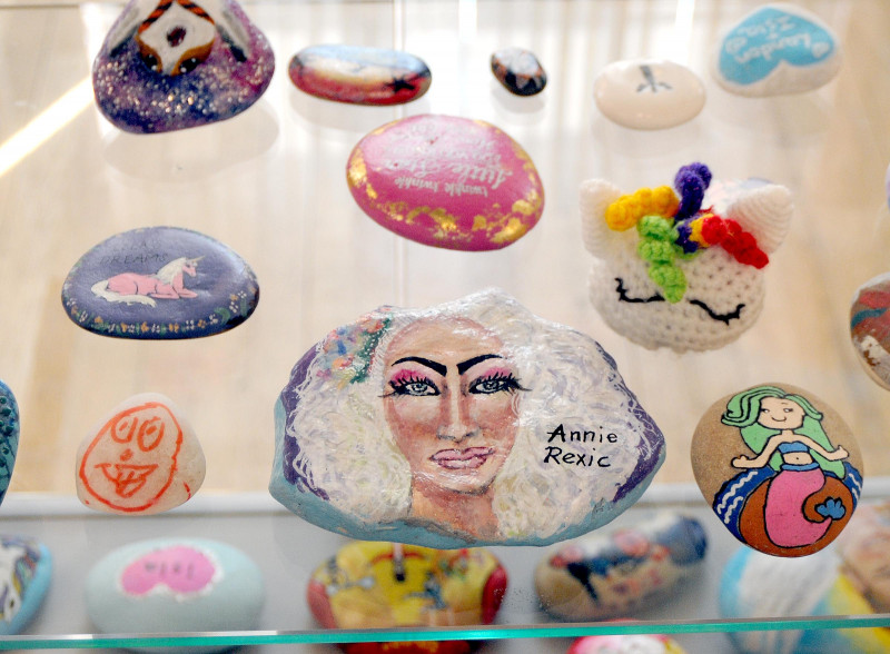 A photo of 'Atkins Gallery- #Islastones Exhibition August 2018 ' by Hinckley and Bosworth Borough Council