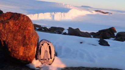 A photo of 'An #Islastone in Antarctica' by Instagram @islastones