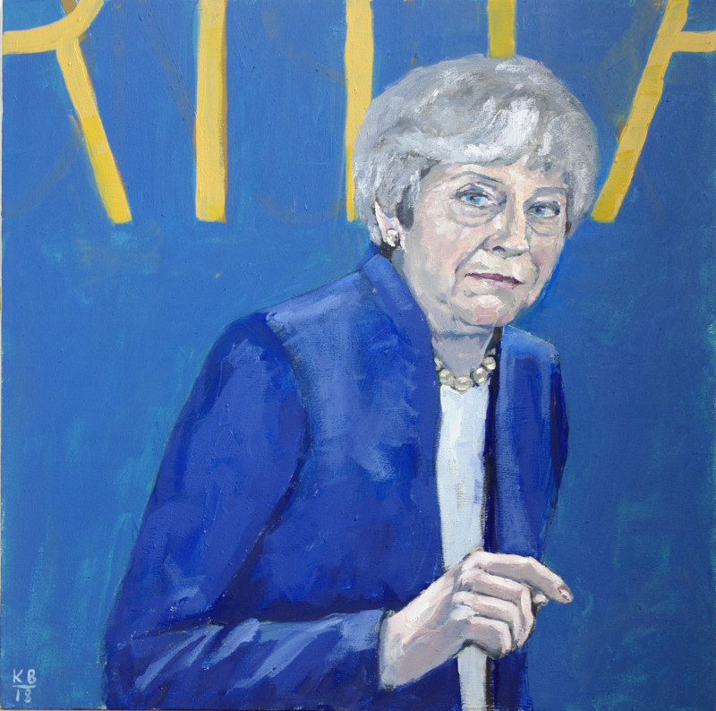 A photo of 'Former Prime Minister Theresa May' by Keith Blower