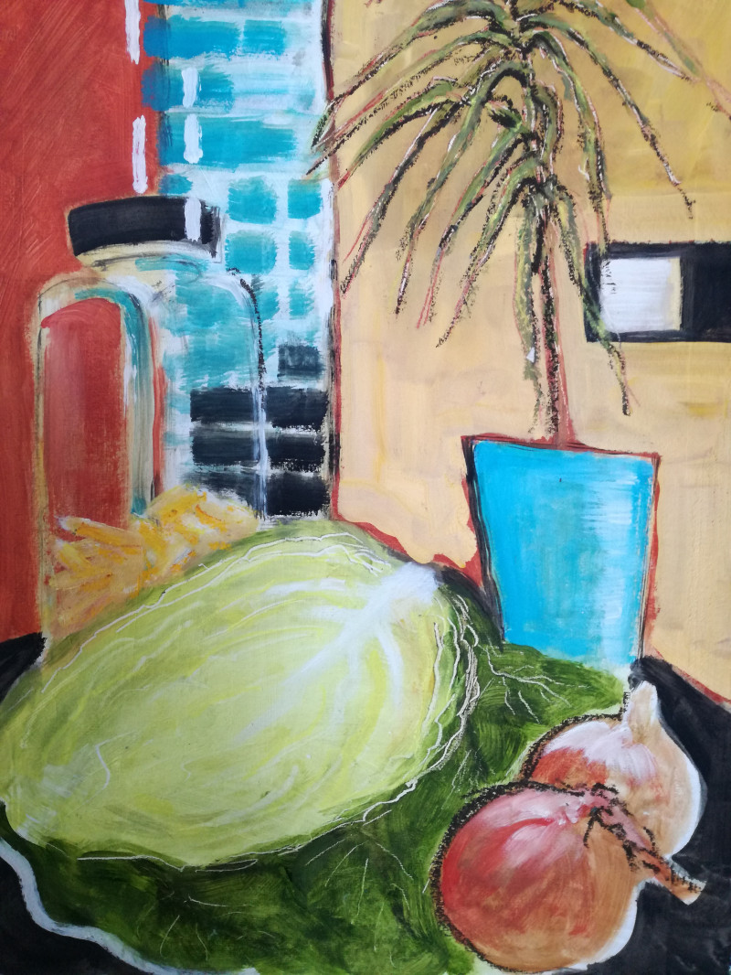 A photo of 'Kitchen Still Life' by Chris Anne Taylor - krisantay@virginmedia.com