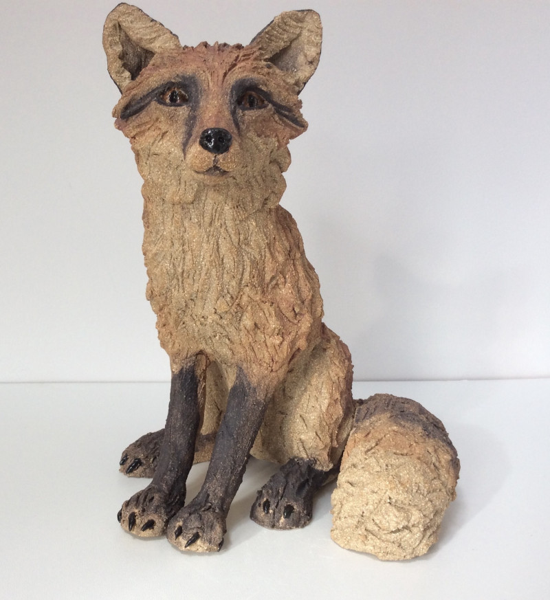 A photo of 'Fox Sculpture' by Lea Hind