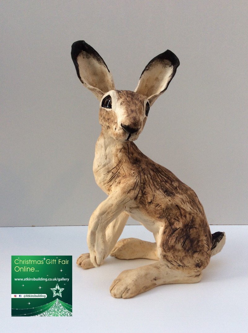 A photo of 'Hare Scuplture' by Lea Hind