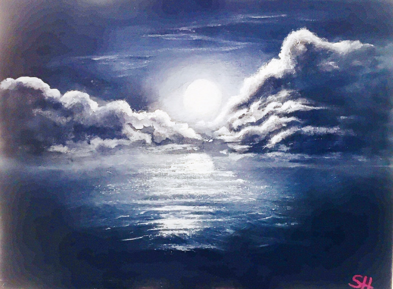 A photo of 'Moon on Water' by Samantha Haskins
