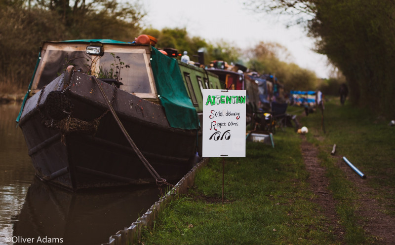A photo of 'Narrow Boat' by Oliver Adams