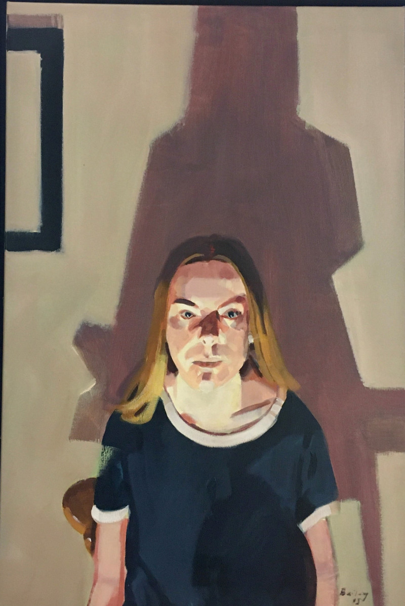 A photo of 'A LEXICON OF SHADOWS    Night Portrait 2' by Geoff Bailey