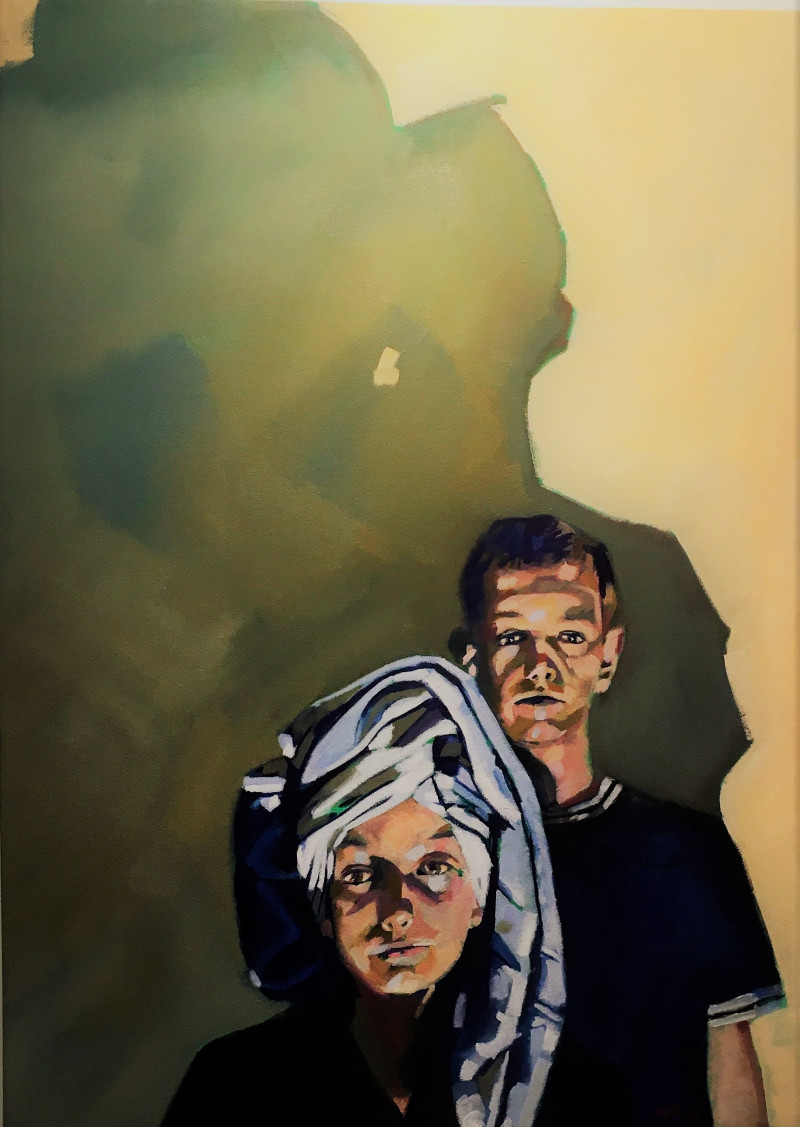 A photo of 'A LEXICON OF SHADOWS   Night Portrait 4' by Geoff Bailey