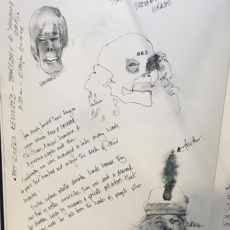 A photo of 'ORIGINS      Sketchbook ' by Geoff Bailey