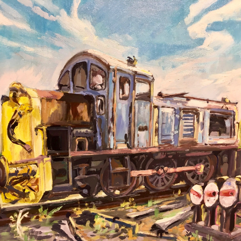 A photo of 'The Patient Shunter' by Paul Dexter