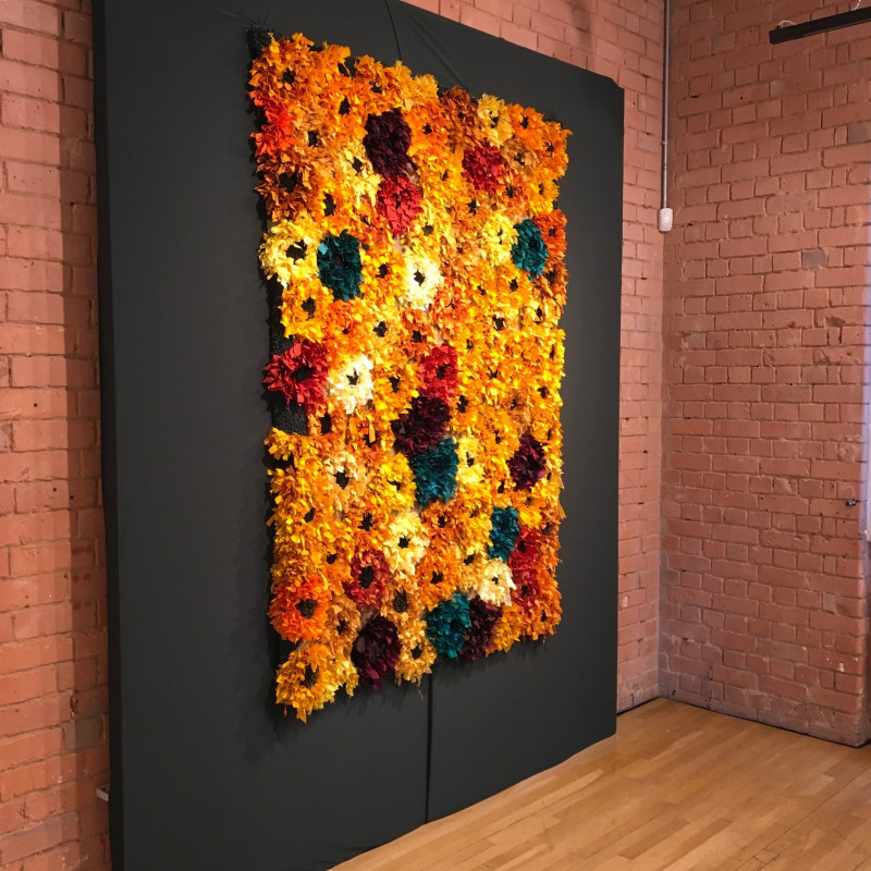 A photo of 'Textile wall hanging' by Penny Andrews