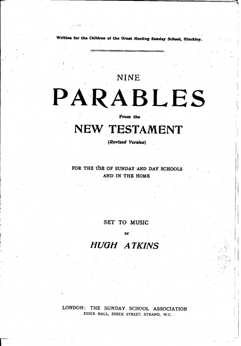 A photo of 'Parables Book' by Chapel Archive