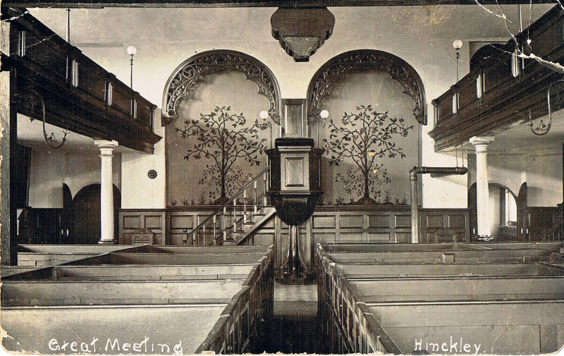A photo of 'Great Meeting Chapel interior' by Chapel Archive