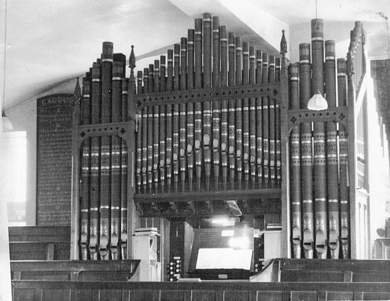 A photo of 'Organ inside the Chapel ' by Chapel Archive