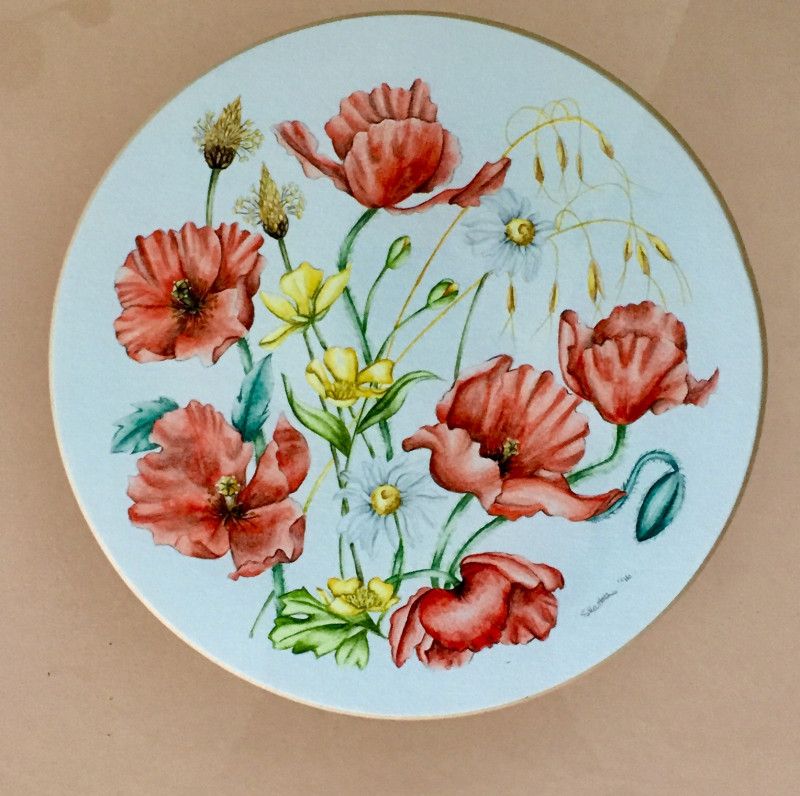 A photo of 'Poppies' by Samantha Haskins