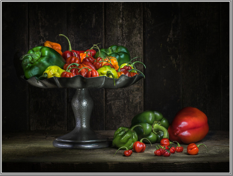 A photo of 'Peppers' by Phil Mallin