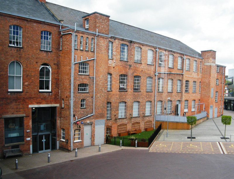 A photo of 'Atkins Building today' by Hinckley and Bosworth Borough Council