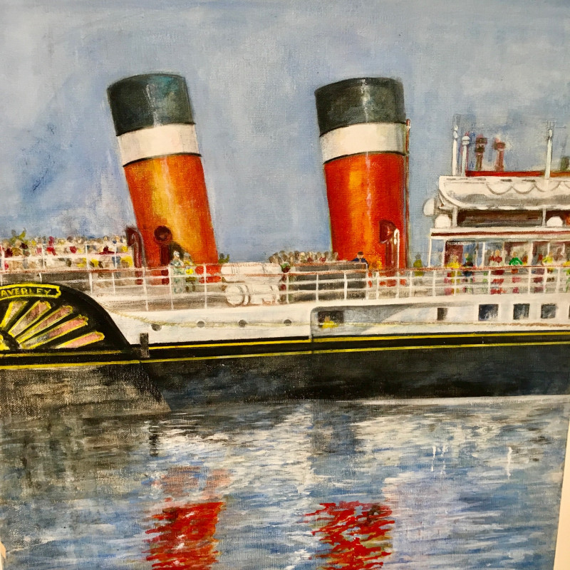 A photo of 'Embarkation ' by Ross Kilgour