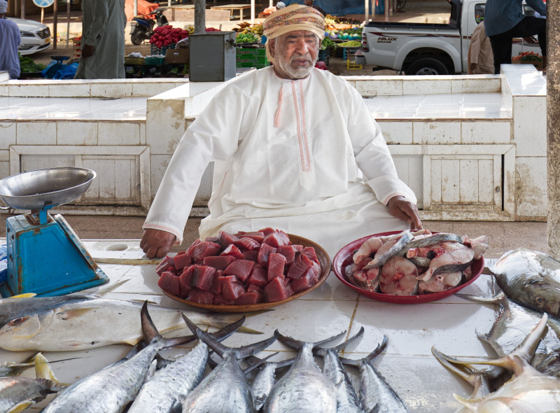 A photo of 'The Fishseller At Barka' by Steve Pears