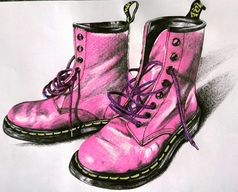 A photo of 'These Boots were made for Walking' by Natalie Browne