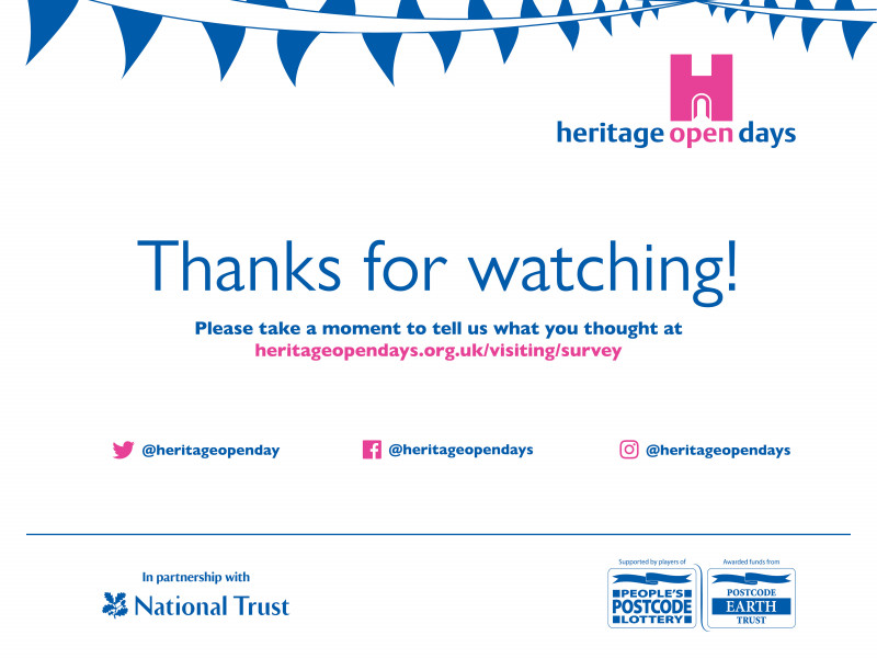 A photo of 'Thank you!' by Heritage Open Days