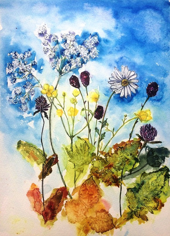 A photo of 'Flower Study' by Anne Turville -   Instagram @anneturville