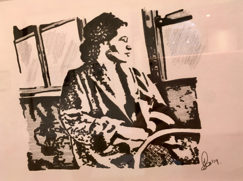 A photo of 'Rosa Parks, 1955, Alabama' by Jane Link