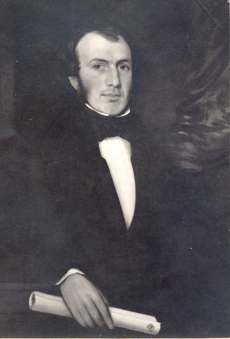 A photo of 'Joseph Aloysius Hansom (1803-1882) Inventor of the Hansom Cab' by Unknown