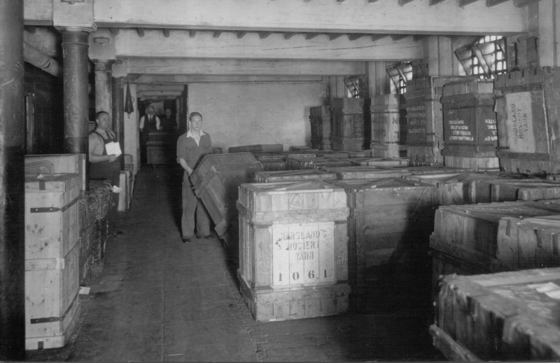 A photo of 'Yarn Store, unknown year' by Hinckley & District Museum