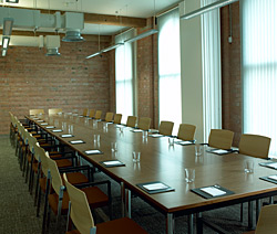 a photo of combined 'Goddard' and 'Paget' meeting rooms